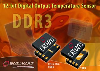 Catalyst Semiconductor unveils its first device in new line of temperature sensors