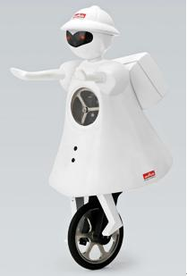 Murata develops Murata Girl, a unicycle-riding robot