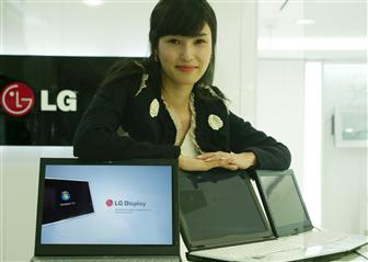 LG Display privacy protection LCD panels for notebooks