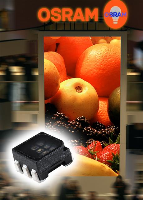 MultiLED packages for video from Osram Opto