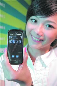 Nokia launches touch-panel music handset in Taiwan
