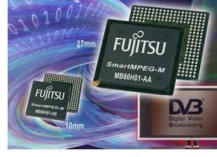 Fujitsu launches SD multi-standard decoders supporting MPEG-2 and H.264