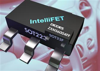 Diodes announces self-protected MOSFET