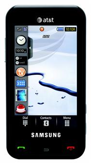CES 2009: Samsung touchscreen phone Eternity