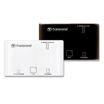 Transcend USB card reader with photo recovery software