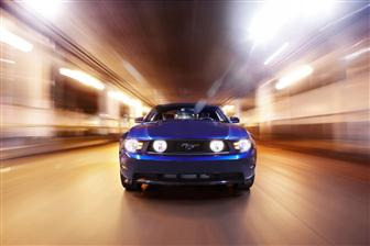 2010 Ford Mustang shines with Osram LED solutions