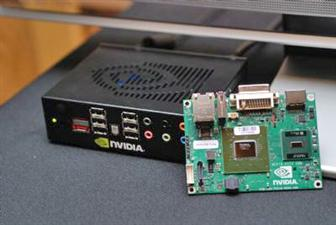 Nvidia Ion-based PC featuring GeForce 9400 chipset and Intel Atom processor