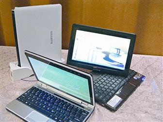 Gigabyte to showcase three 10.1-inch netbooks at CeBIT 2009