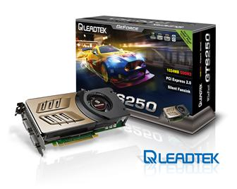 Leadtek WinFast GTS 250 graphics card