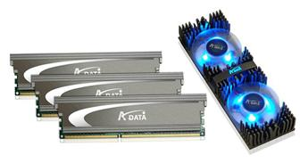 CeBIT 2009: A-Data demonstrates triple-channel DDR3 module