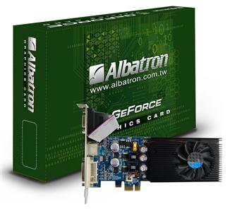 Albatron GeForce 9500GT PCI-E 1X graphics card