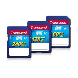 Transcend releases SDHC HD video cards