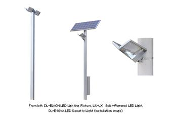 Sharp LED streetlamp