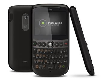 HTC SNAP QWERTY smatphone