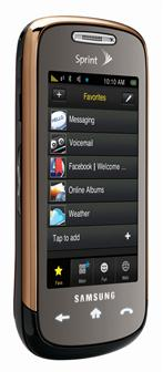 Samsung Instinct s30 touch screen phone