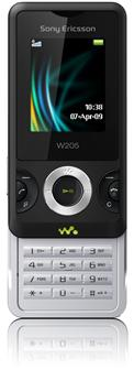 Sony Ericsson Walkman phone W205