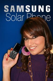 Samsung solar-powered handset comes to Pakistan