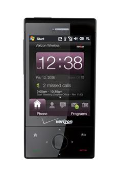 HTC Touch Diamond available at Verizon Wireless