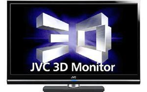 Victor JVC 46-inch 3D monitor