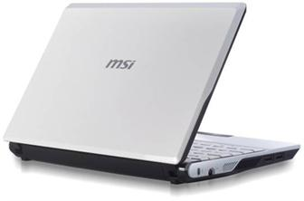 MSI U123 netbook series