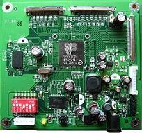 SiS SiS168 motion-fluent co-processor for LCD TVs