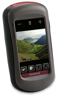 Garmin Oregon 550 with built-in camera and touchscreen GPS