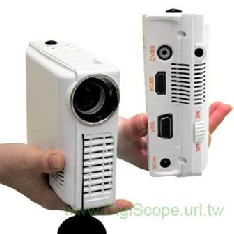Computex 2009: Forever Plus showcasing portable 720P HD LED projector