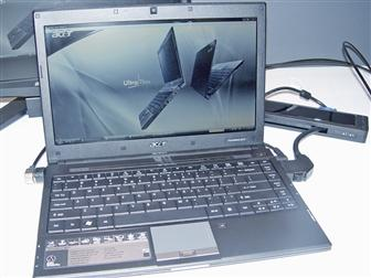 Acer TravelMate 8371 ultra-thin notebook