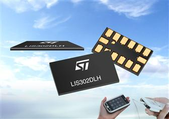 STMicroelectronics MEMS accelerometer for ultra-slim designs<br>