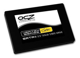 OCZ unveils Vertex Turbo SSD for enthusiasts