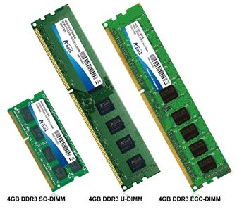 A-Data extends DDR3 lineup with 4GB single module