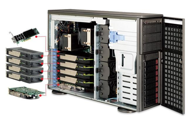 Supermicro 7046GT-TRF workstation