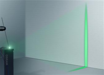Osram 50mW direct emitting green InGaN laser
