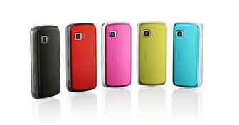 Nokia colorful handsets 5230