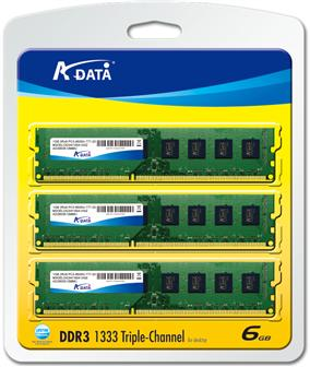 A-Data announces new DDR3 modules