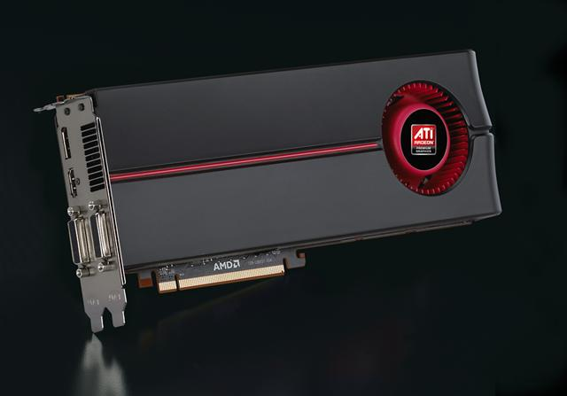 AMD ATI Radeon HD 5870 graphics card