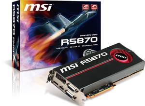 MSI R5870-PM2D1G graphics card