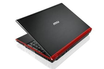 MSI GT640 notebook