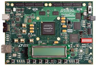 Altera Cyclone III LS FPGA development board
