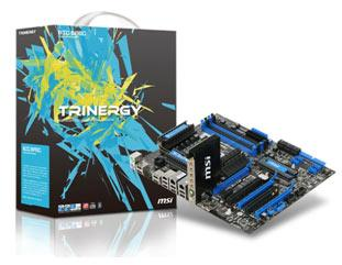 MSI Big Bang Trinergy motherboard