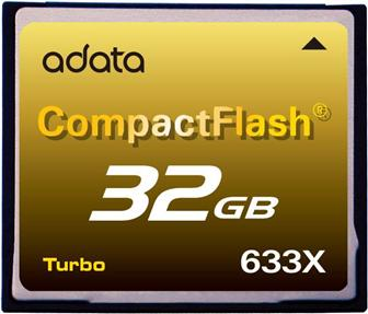 A-Data CF633X CompactFlash card