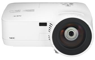 NEC Display Solutions energy saving short throw series projectors