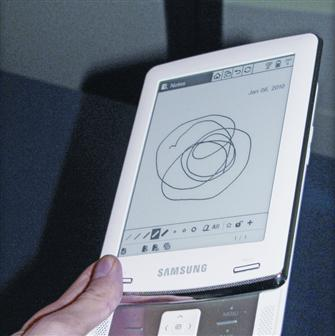 Samsung e-book reader, E6