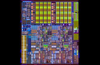 Intel Westmere-based die