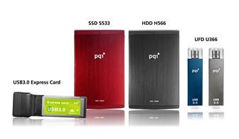CES 2010: PQI USB 3.0 storage devices