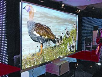 LG 3D-capable LED-backlit LCD TV, the Infinia series