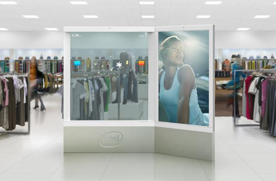 Intel Intelligent Digital Signage concept