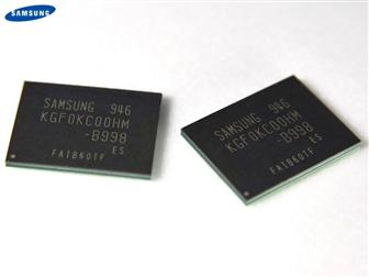 Samsung 30nm-class NAND flash for mobile devices