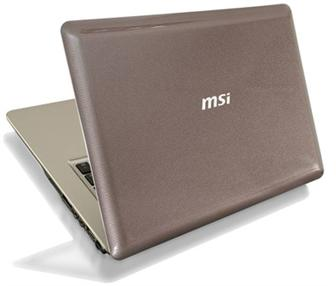 MSI X-Slim X420 ultra-thin notebook