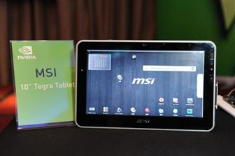 MSI Tegra-based tablet PC